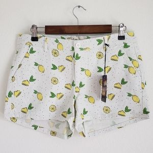 Bebop Lemon Shorts NWT